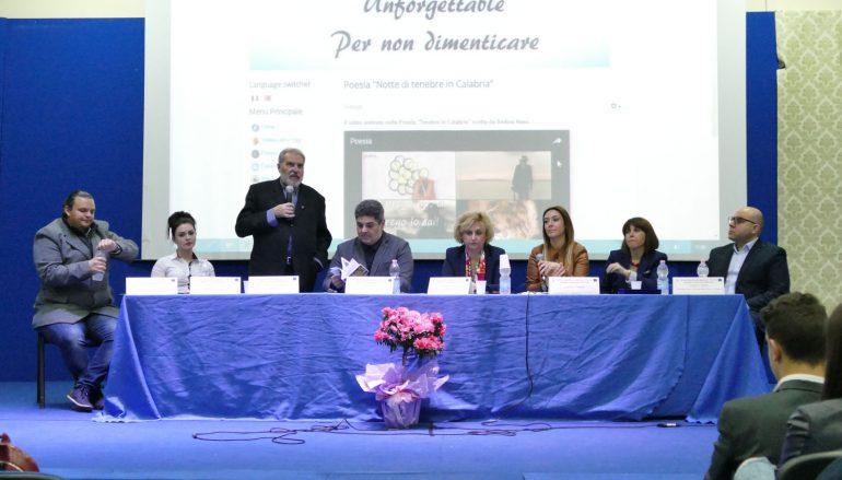 """Progetto """"Unforgettable"""" all'Istituto Piria di Rosarno"""