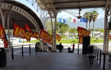 Lamezia, straordinario successo dello sciopero Sacal