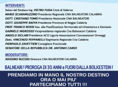Siderno, assemblea del Cna Balneatori Calabria