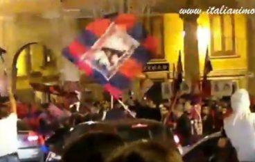 Crotone in Serie A, il video della festa dei tifosi
