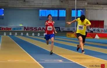Demetrio Battaglia all'IPC Athletics Grand Prix di Grosseto