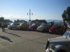 Raduno delle Fiat 500 a Melito di Porto Salvo