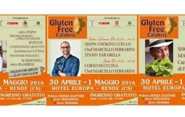 """A Rende la prima edizione del """"Gluten free Calabria"""""""