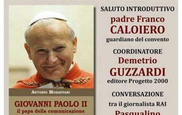 Rende, presentazione del libro su Giovanni Paolo II