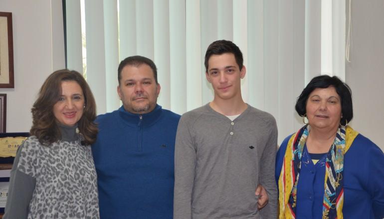 """Locri, studente del liceo """"Oliveti"""" alle Olimpiadi di Matematica"""