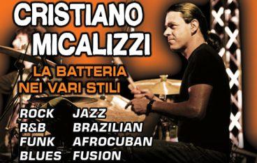 Reggio, workshop di batteria di Cristiano Micalizzi