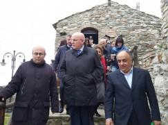 San Lorenzo, Russo e Gualtieri a margine della visita di Oliverio