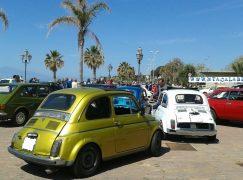 Reggio Calabria, benedizione Fiat 500 al Santuario Sant'Antonio