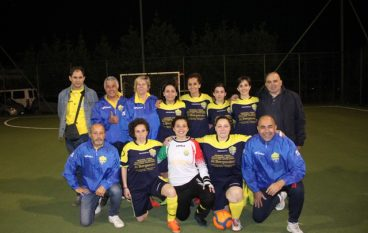 Coppa Championship calcio a5 femminile CSI alla Condofurese