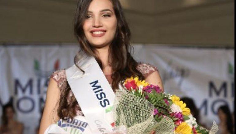 Calabria, Giada Tropea è Miss Mondo Calabria 2016