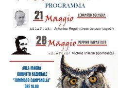 Reggio Calabria, incontro dedicato a Peppino Impastato