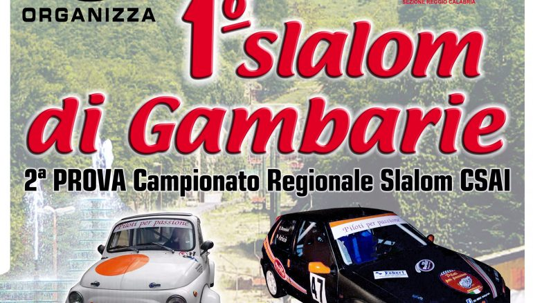"""Automobilismo: tutto pronto per la """"Mannoli-Gambarie"""""""