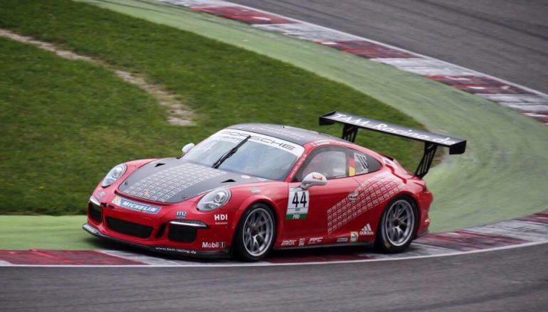 Automobilismo: seconda gara su Porsche per Iaquinta