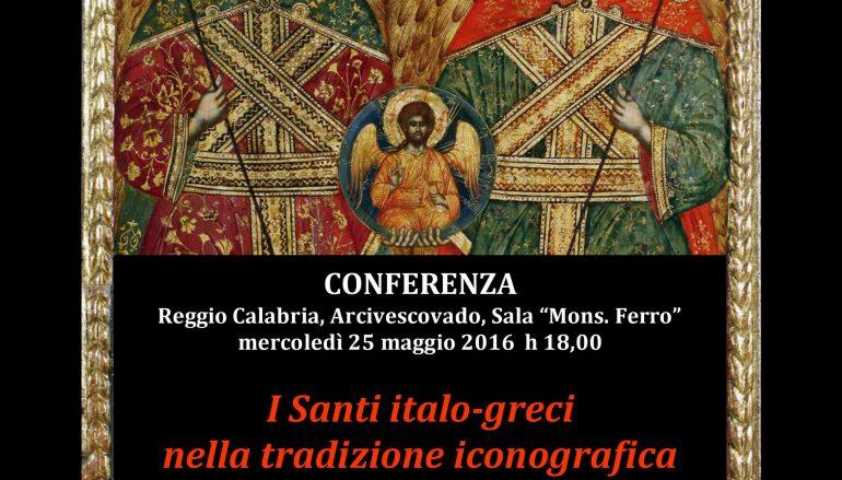 Conferenza su I Santi italo-greci  promossa dal Museo diocesano di Reggio