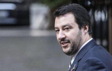 Matteo Salvini a Rossano per sostenere Antoniotti