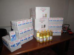 Chiaravalle, latte e olio per i bisognosi
