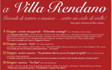 Cosenza, ricominciano le serate d'estate a Villa Rendano