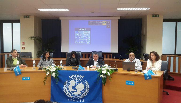 Reggio Calabria, svolto incontro promosso dall'Unicef