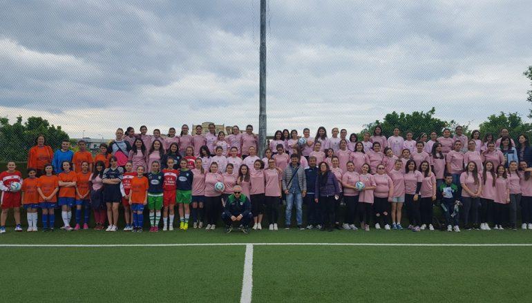 """Corigliano, svolto il """"Women's Football Day"""""""