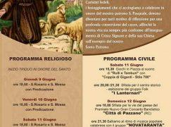 Chorio di San Lorenzo, al via festeggiamenti San Pasquale