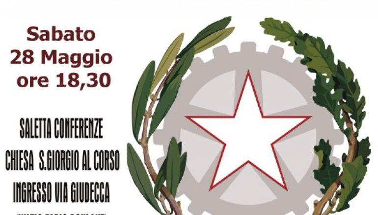 """Reggio, l'evento """"1946-2016: buon compleanno Repubblica"""""""
