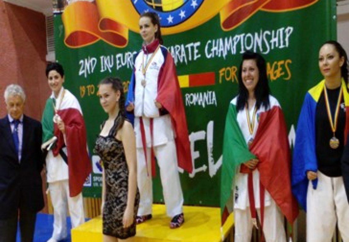 Karate, la reggina Federica Trimboli sul podio europeo