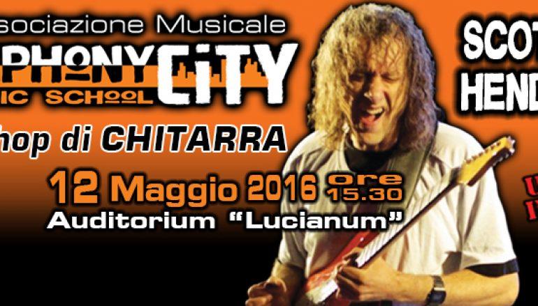 A Reggio Calabria il chitarrista Scott Henderson
