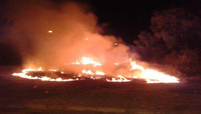 Roghudi, divampato incendio: intervenuti i Vigili del Fuoco