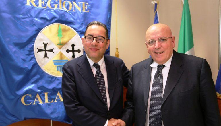 Calabria, incontro istituzionale fra Pittella e Oliverio