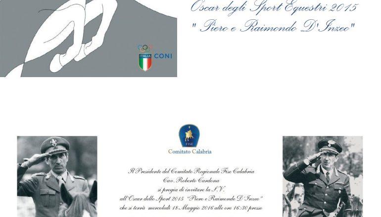 Villa San Giovanni, Fise organizza Oscar Sport Equestri