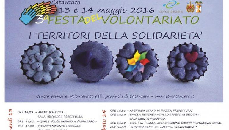 Catanzaro, terza edizione della Festa del Volontariato