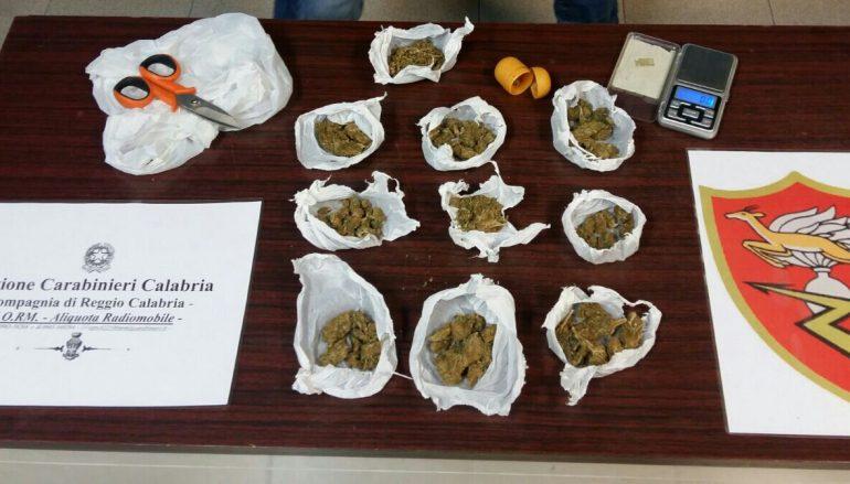 Reggio Calabria, avevano in casa droga: arrestati