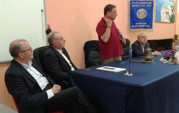 Marziale a Bova Marina per l'iniziativa del Rotary sul bullismo