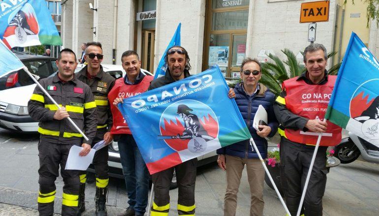 Catanzaro, mobilitazione dei vigili del fuoco