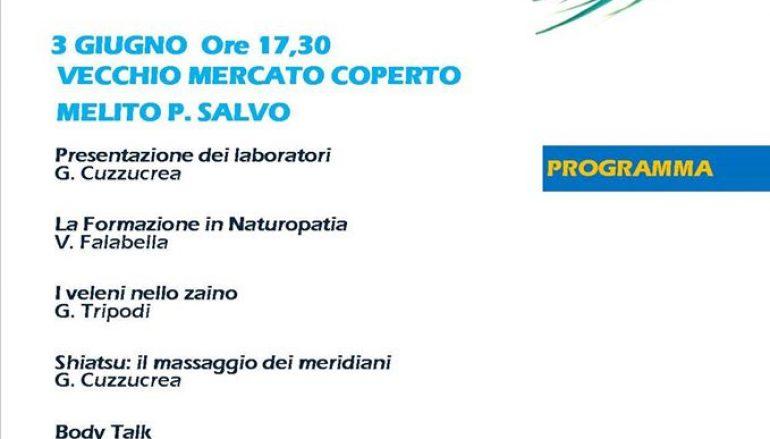 """A Melito """"Naturopatia open day: laboratori esperienziali"""""""