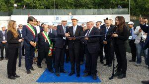 oliverio renzi inaugurazione elettrodotto