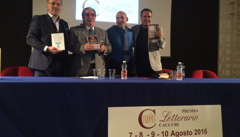 Il Premio Letterario Caccuri al Salone del Libro