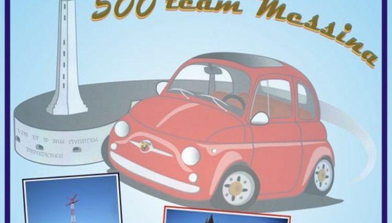 Reggio Calabria, Club Fiat 500 partecipa al raduno a Messina
