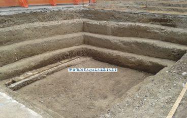 Reggio Calabria, le foto degli scavi a Piazza Garibaldi