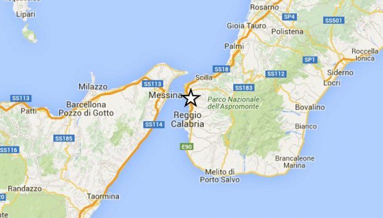 Scossa di terremoto a Reggio Calabria