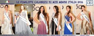 Finaliste Calabresi Miss Mondo Italia