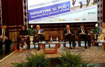 Oliverio all'Assemblea Generale di Unindustria Calabria