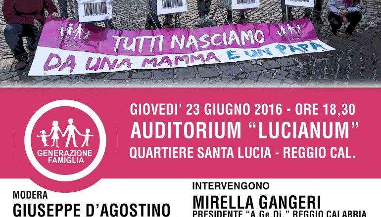 Convegno sull'utero in affitto  all'auditorium Lucianum