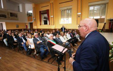 Delianuova, Oliverio all'inaugurazione Scuola Musica
