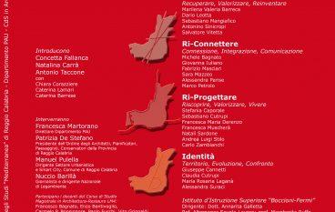 Progetto area ex polveriera di Ciccarello: seminario alla Mediterranea
