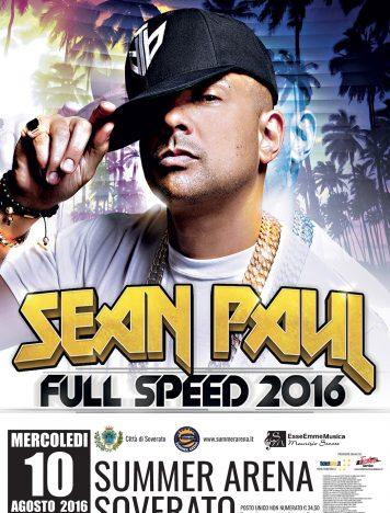 Soverato, alla Summer Arena anche Sean Paul