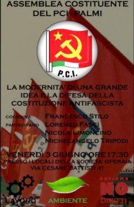 Programma evento politico Palmi