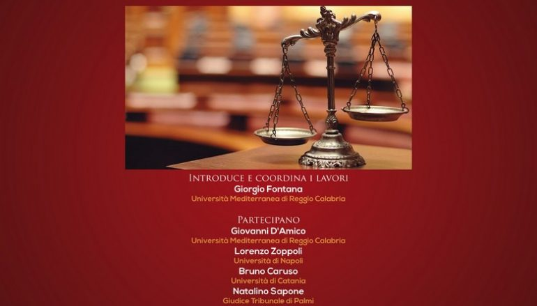 """Reggio, al via convegno """"Riflessioni dopo la grande Crisi"""""""