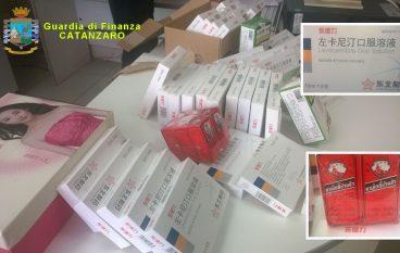 Lamezia, tentava di importare farmaci illeciti: bloccato in aeroporto