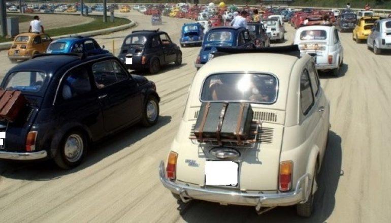 Al via il Giro della Calabria Fiat 500 Club Italia